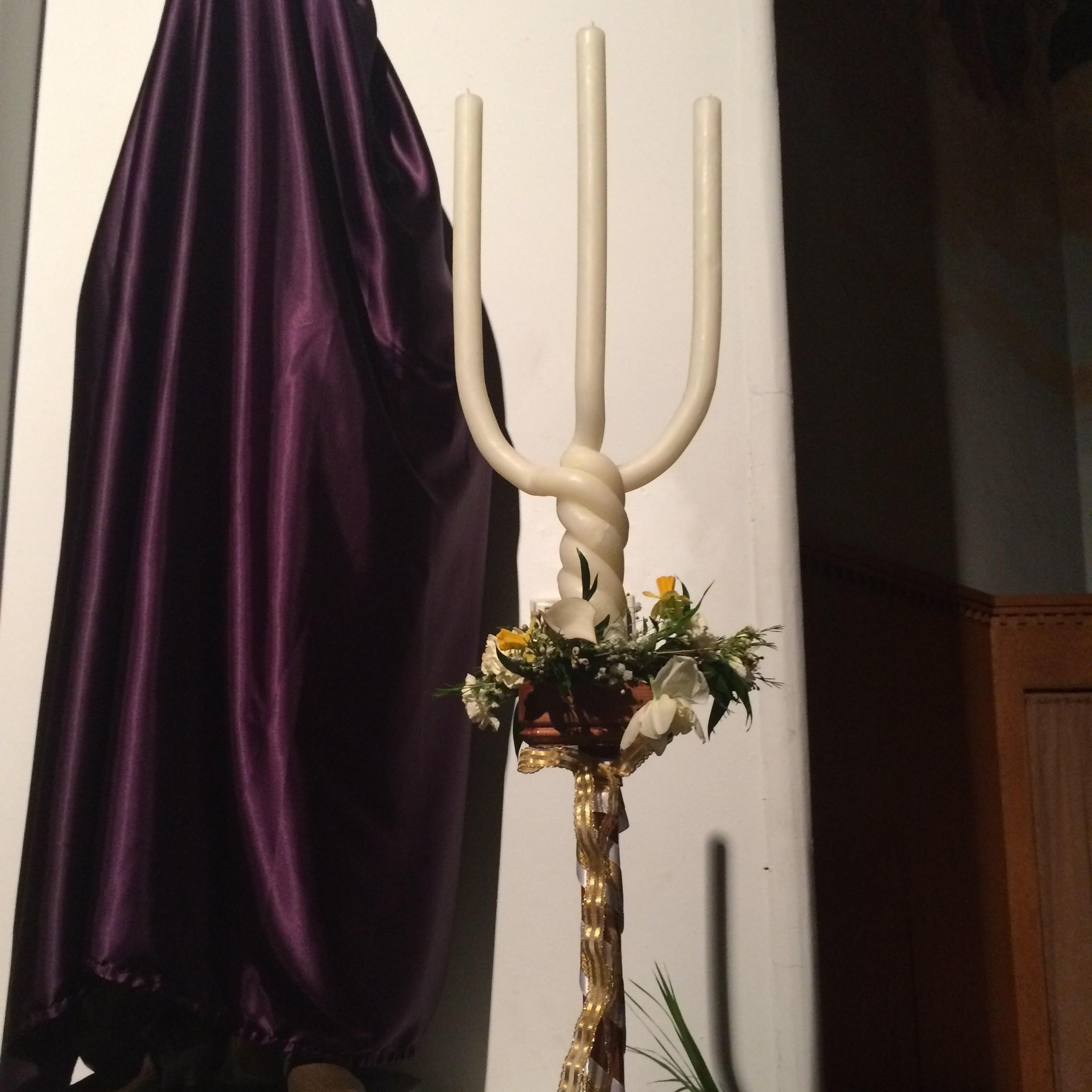 Triple Candle Easter Vigil